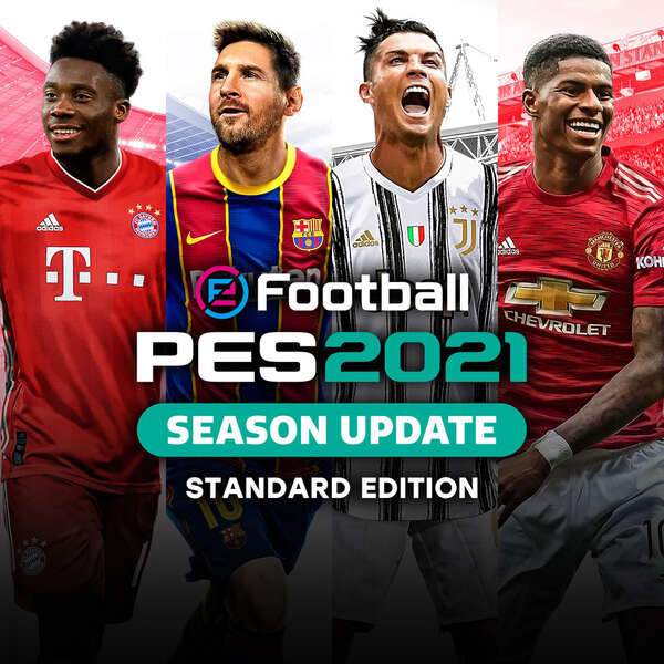 اکانت ظرفیت سوم eFootball PES 2021 SEASON UPDATE STANDARD EDITION