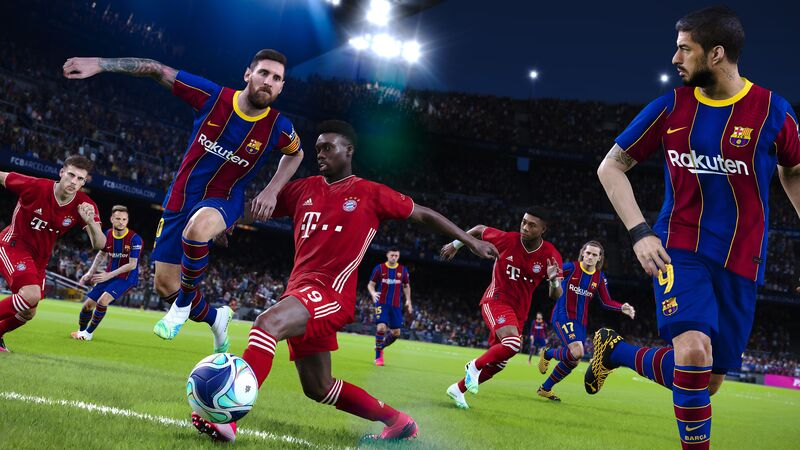اکانت ظرفیت سوم eFootball PES 2021 SEASON UPDATE STANDARD EDITION gallery3