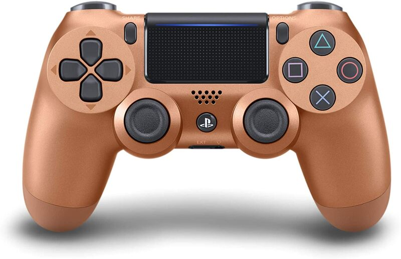دسته اصلی DualShock 4 Copper New Series مسی gallery0
