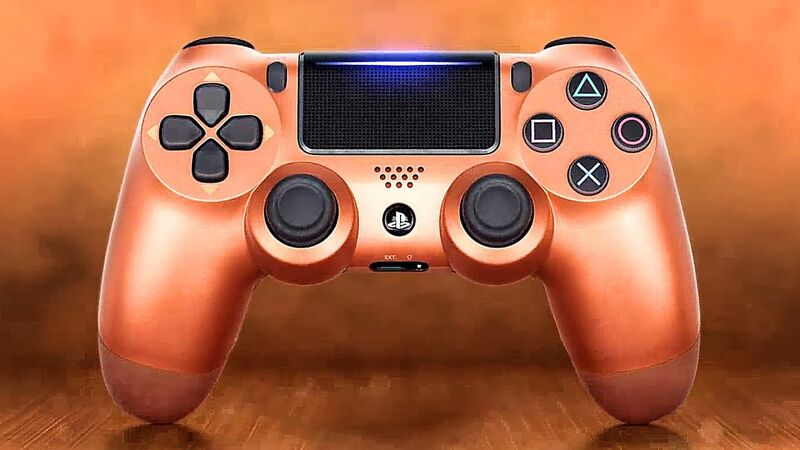 دسته اصلی DualShock 4 Copper New Series مسی gallery2
