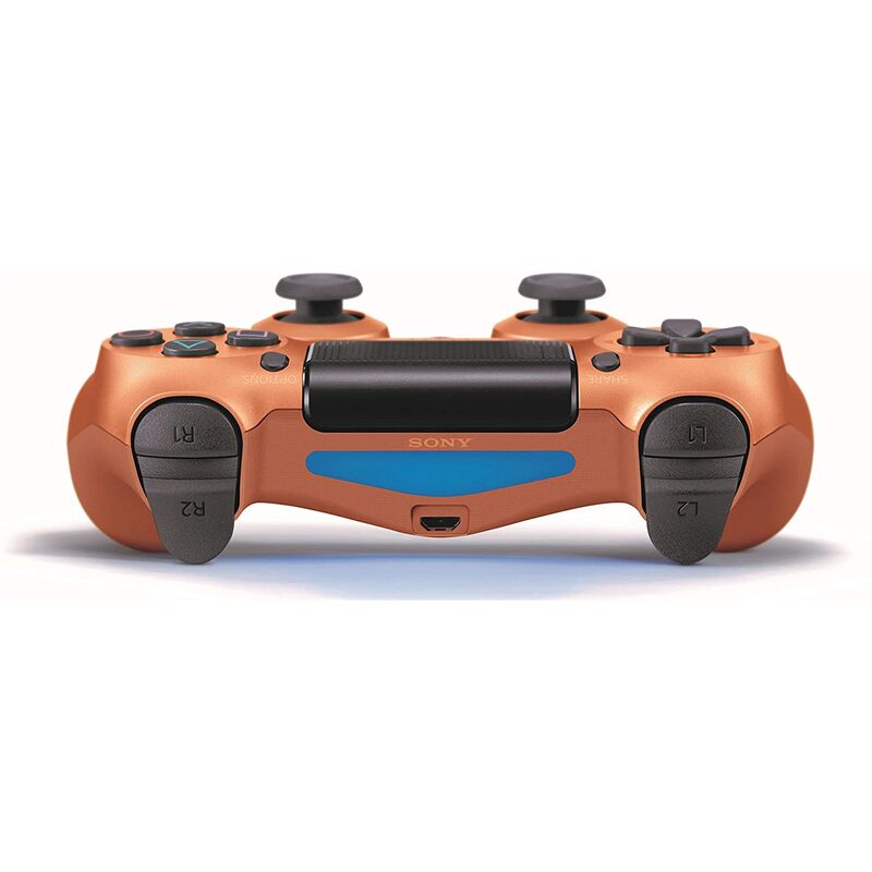 دسته اصلی DualShock 4 Copper New Series مسی gallery5