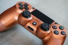دسته اصلی DualShock 4 Copper New Series مسی gallery6