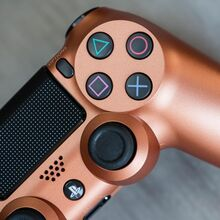 دسته اصلی DualShock 4 Copper New Series مسی gallery7