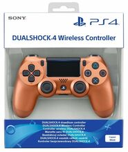 دسته اصلی DualShock 4 Copper New Series مسی gallery8
