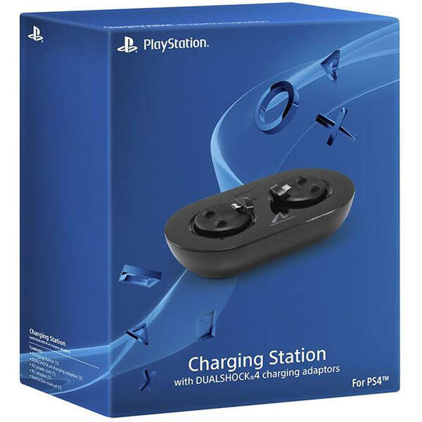 شارژر PlayStation Move با قابلیت شارژ دو DualShock 4 مدل Sony Move Charging Station with DualShock 4 Adaptors