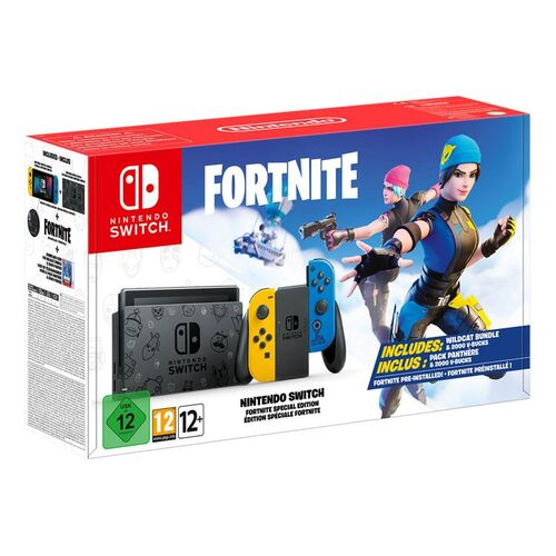 کنسول بازی نینتندو Nintendo Switch Fortnite Special Edition
