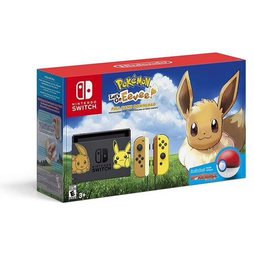 کنسول بازی نینتندو Nintendo Switch Pikachu & Eevee Edition with Pokemon: Let's Go Eevee! + Poke Ball Plus