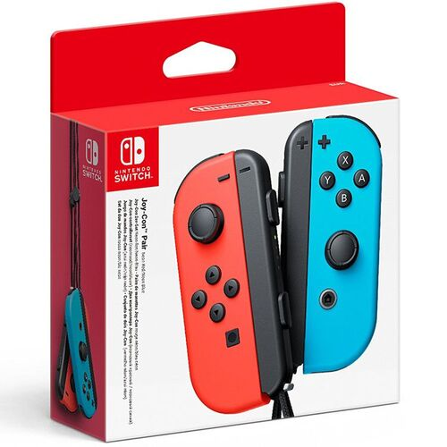 دسته Nintendo Switch Joy-Con Controller Pair - Neon Red/Neon Blue مخصوص نینتندو سوییچ