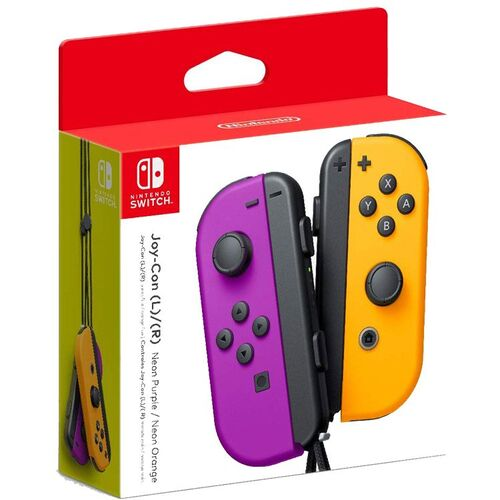 دسته Nintendo Switch Joy-Con Controller Pair - Neon Purple/Neon Orange مخصوص نینتندو سوییچ