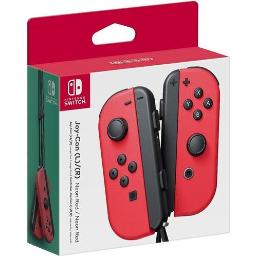 دسته Nintendo Switch Joy-Con Controller Pair - Neon Red مخصوص نینتندو سوییچ
