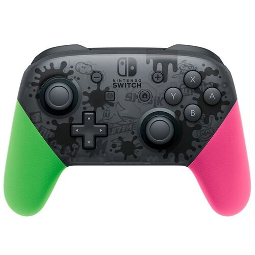 دسته Nintendo Switch Pro Controller - Splatoon 2 Edition مخصوص نینتندو سوییچ