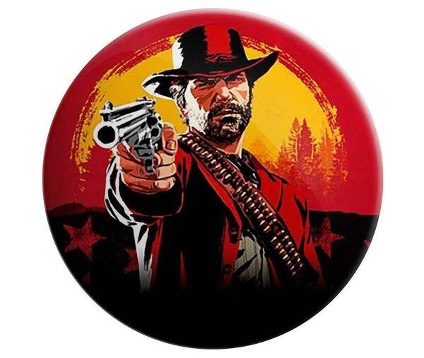 پیکسل طرح Red Dead Redemption II