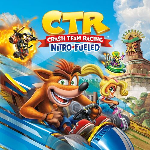 اکانت ظرفیت سوم Crash Team Racing Nitro-Fueled