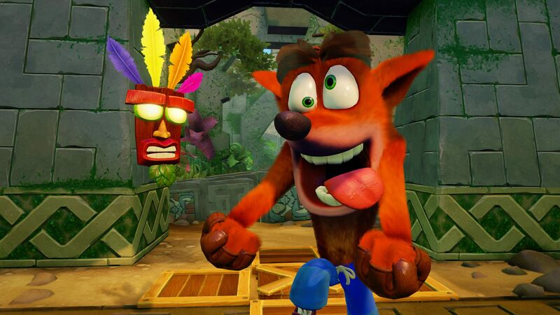اکانت ظرفیت سوم Crash Bandicoot N. Sane Trilogy برای PS4 gallery6