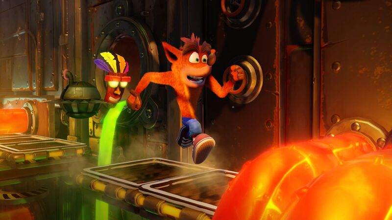 اکانت ظرفیت دوم Crash Bandicoot N. Sane Trilogy برای PS5 gallery2