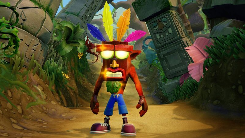 اکانت ظرفیت دوم Crash Bandicoot N. Sane Trilogy برای PS5 gallery4